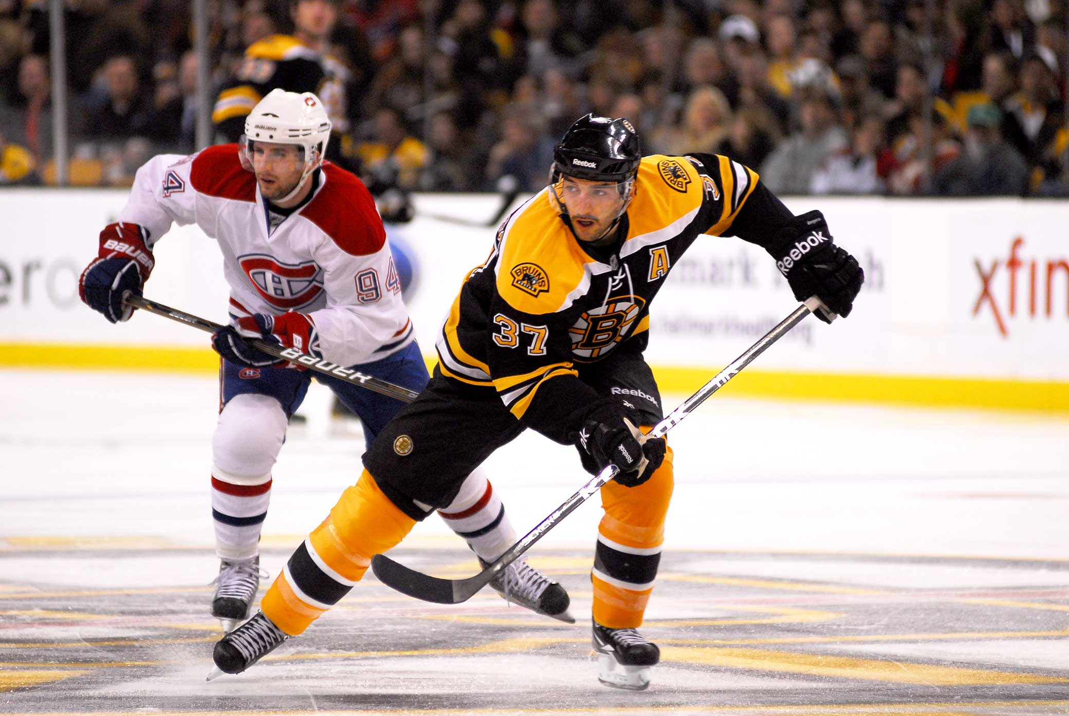 Patrice Bergeron Boston Bruins #37