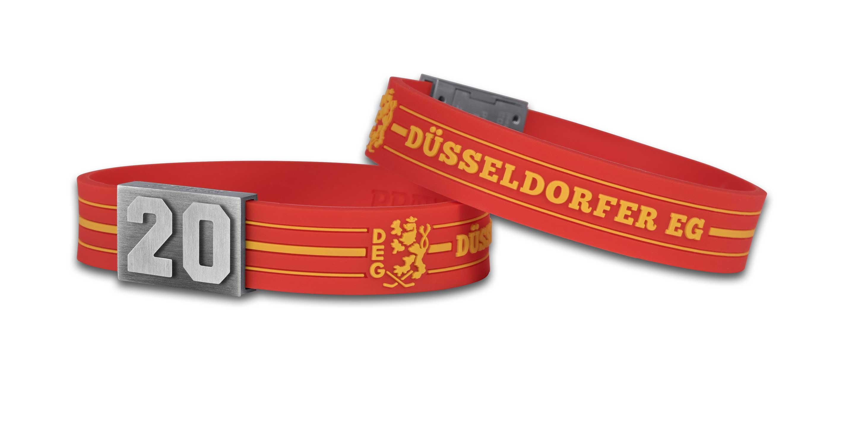 Düsseldorfer EG Armband Nummer 20