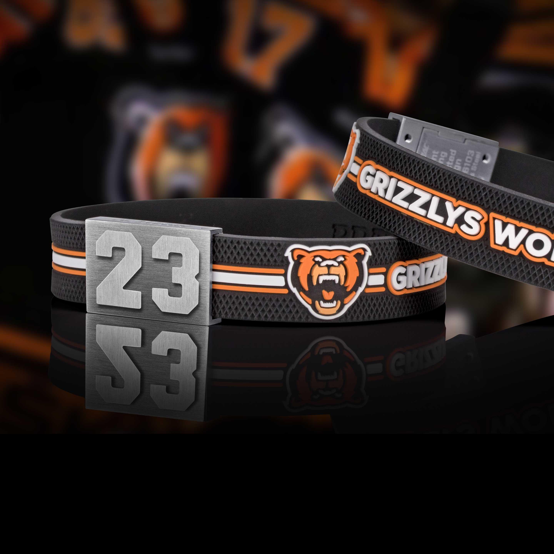 Grizzlys Wolfsburg Armband mit Deiner Nummer