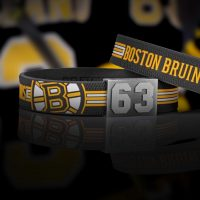 Boston Bruins bracelet atmo shot