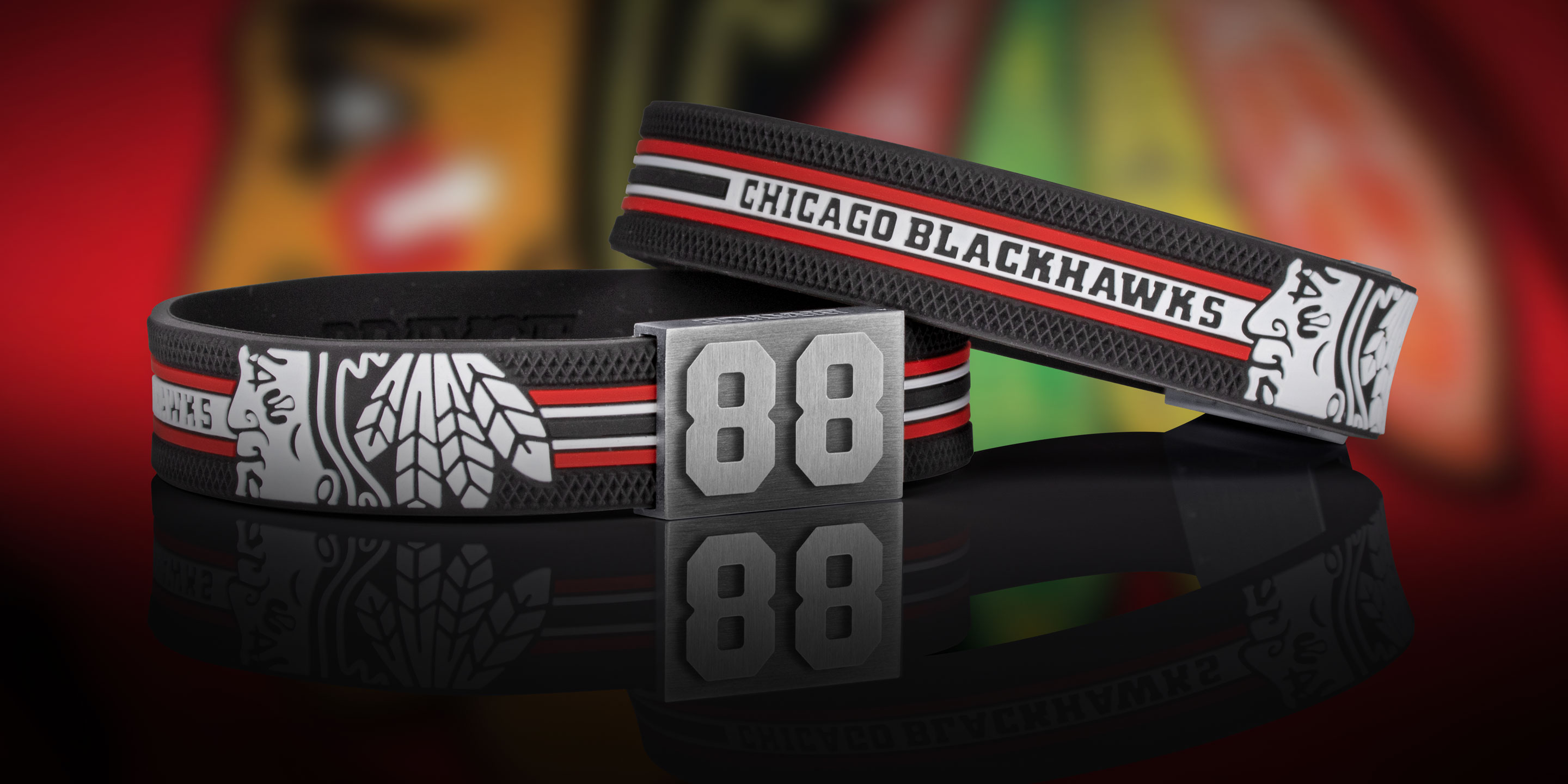 Chicago Blackhawks Armband Nummer 88