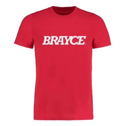 BRAYCE® Logo T-Shirt rot