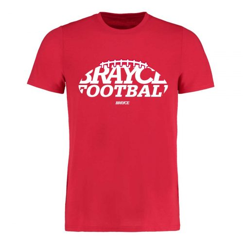 BRAYCE Football T-Shirt rot