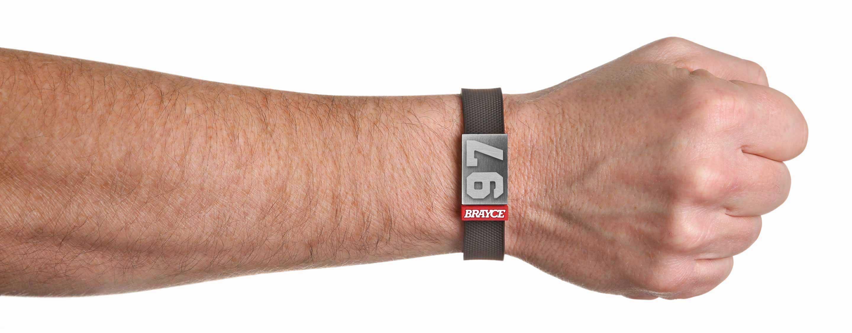 Puck Armband Nummer 97