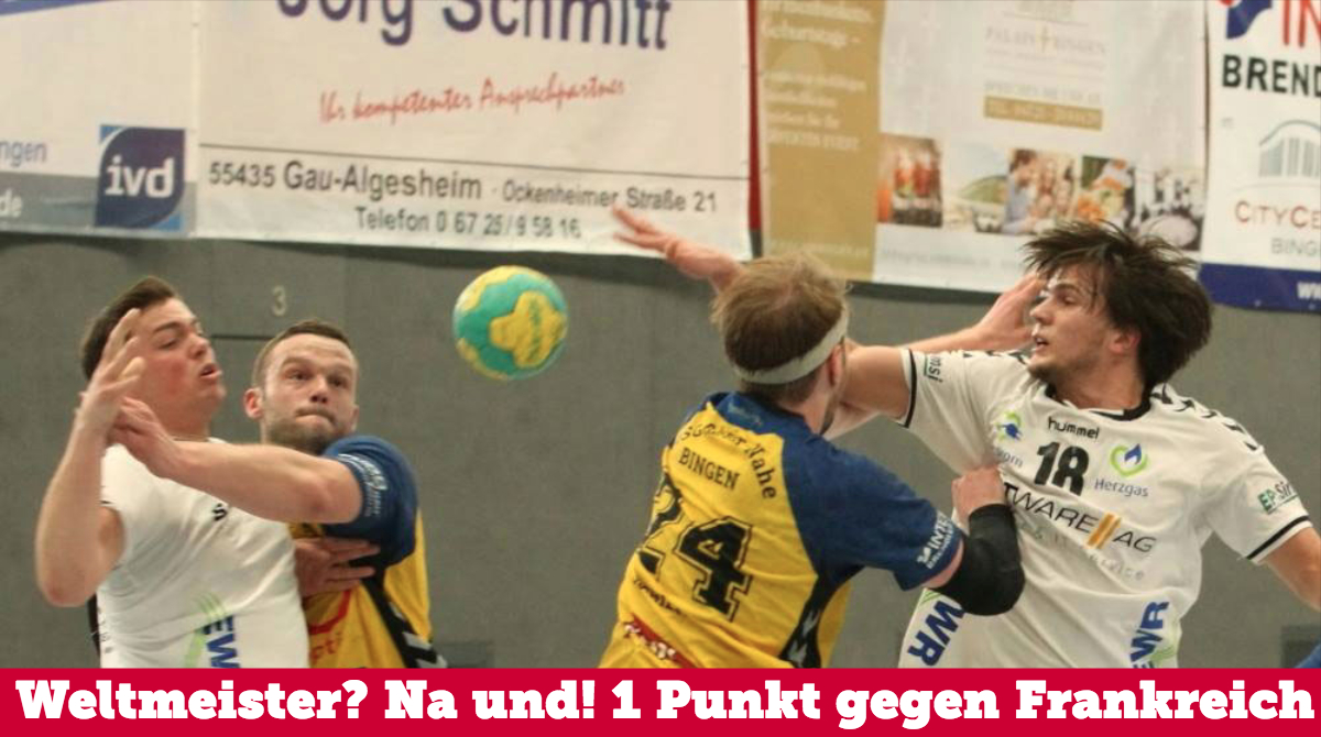 """Das war """"trés bien"""", Team Deutschland!"""