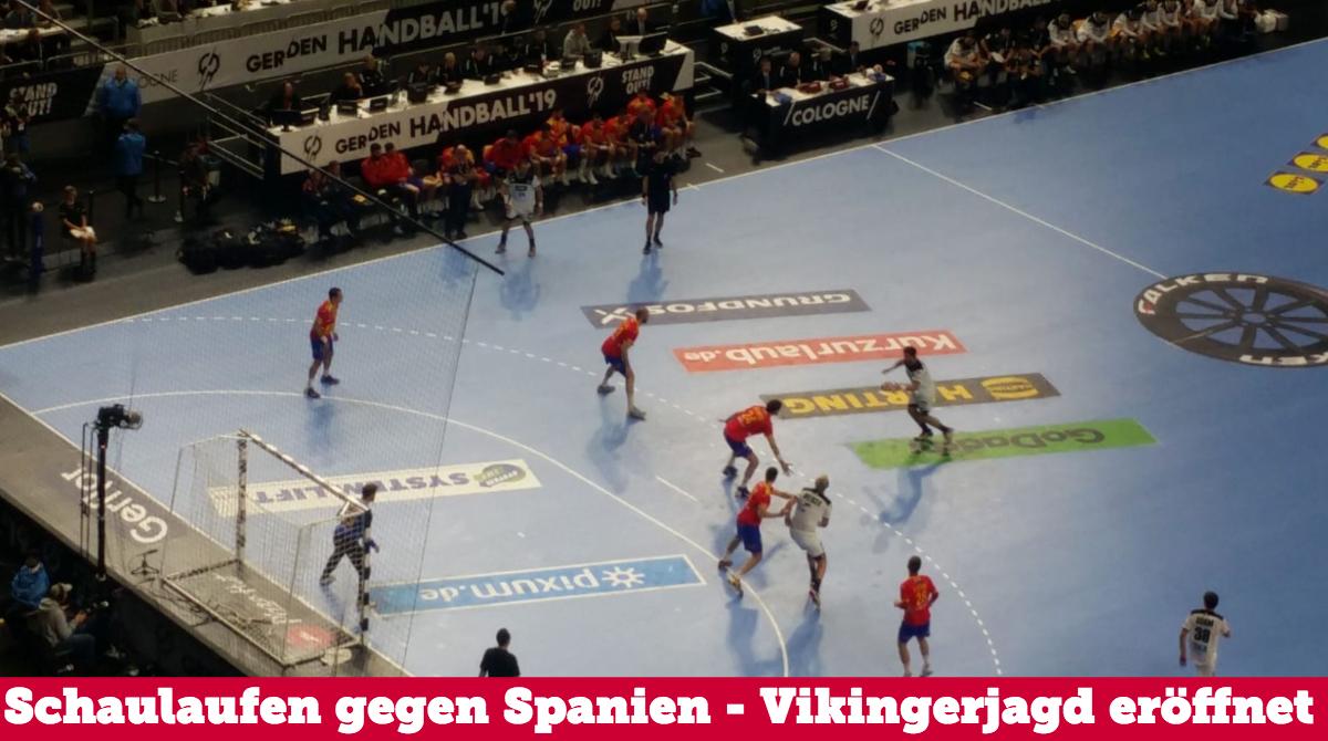 DHB schlägt Europameister Spanien – Vikingerjagd im Halbfinale