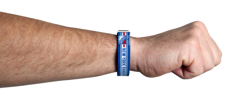 New York Rangers Armband am Handgelenk
