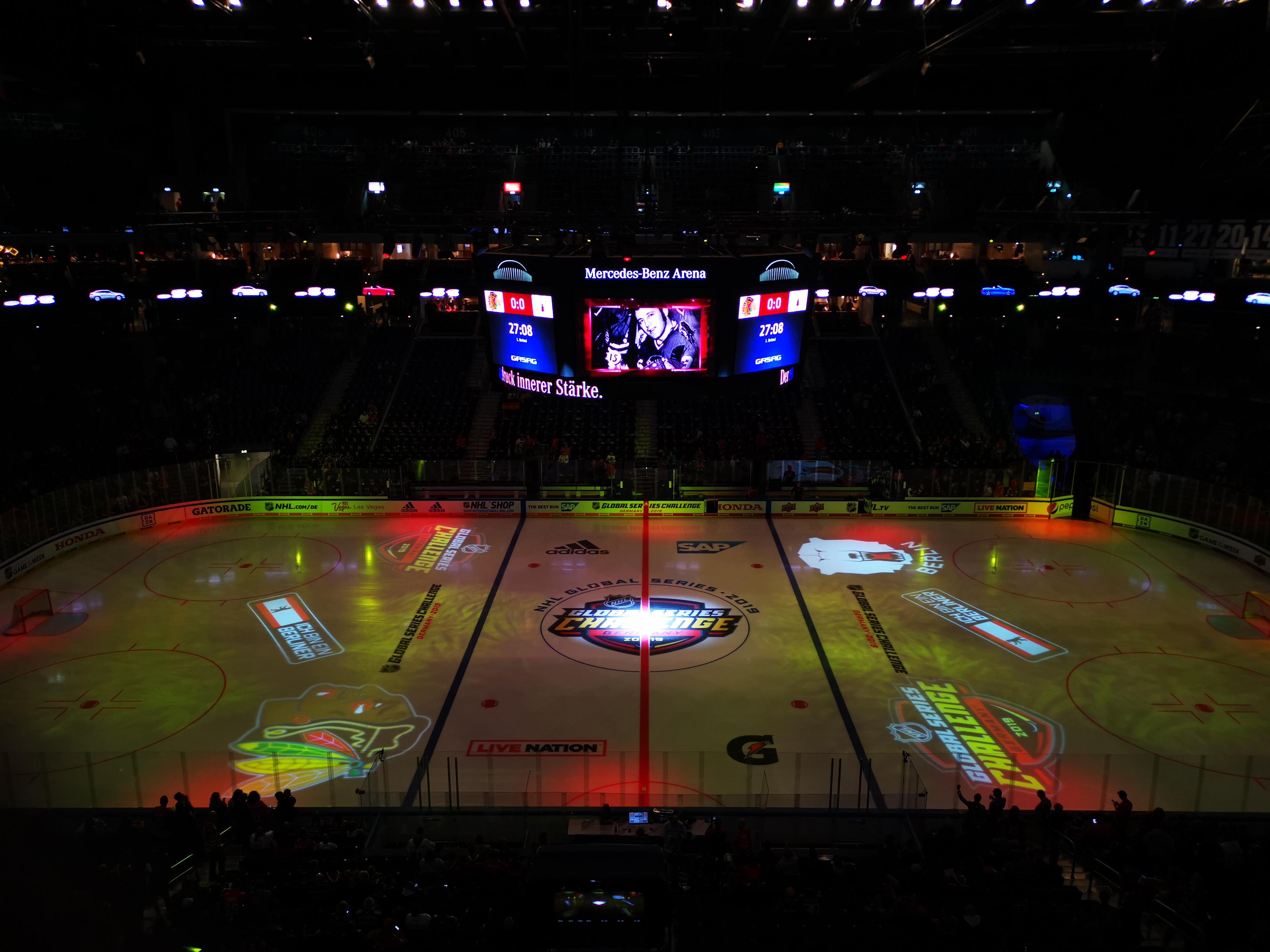 """Bandencheck Eishockey Blog: NHL® Global Series """"Mehr Show als Eishockey"""" – aber geil"""