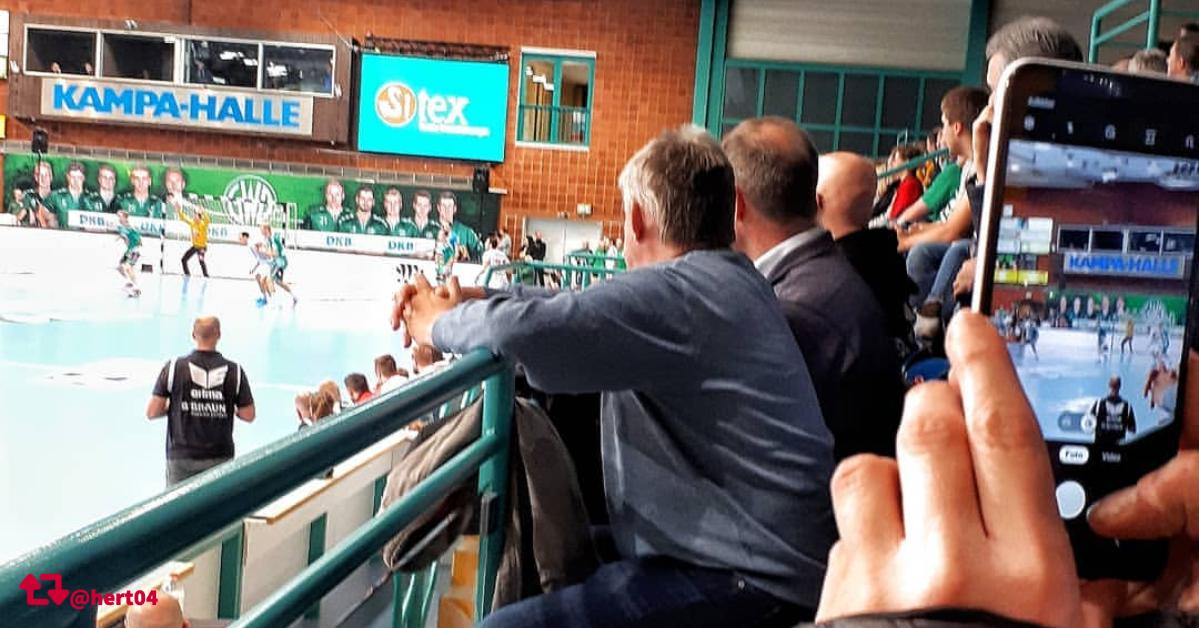 Hacken am Kreis Handball Blog: GWD Minden vs. HC Erlangen
